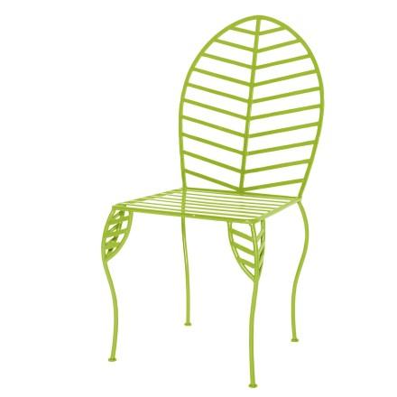 Iron Leaf Chair